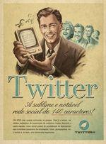 Fausse pub twitter